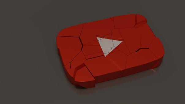 Button, Icon, Youtube, Internet, Logo, Media, Videos