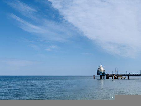 Baltic Sea, Sea, Diving Bell, Diving Gondola, Coast