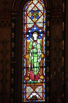 Stain Glass, Religions, Faith, Colourful, Church