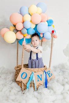 Baby, Summer, Children's Day, Colorful, Cute, Newborn