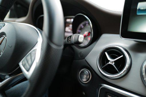 Car, Interior, Mercedes, Mercedes-benz, Steering Wheel