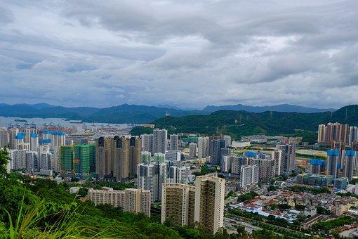 Yantian, Buildings, Mountains, Wutong Mountain