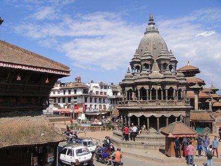 Kathmandu, Nepal, Destroyed In Earthquake, April 2015