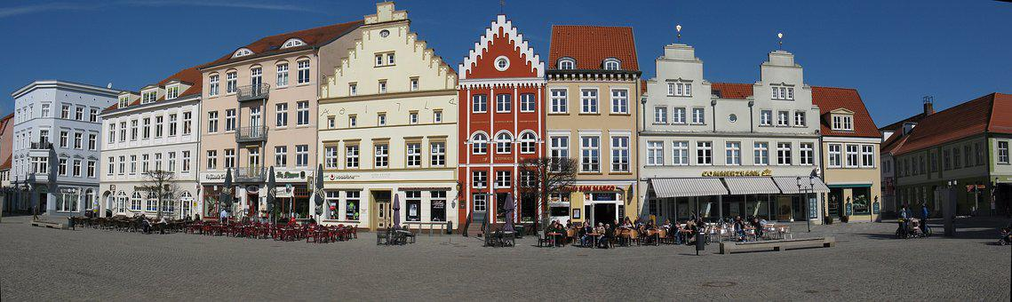 City, Greifswald, Architecture, Marketplace