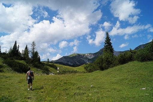 Lace Berges, Austria, Mountains, Great, Hiking Day