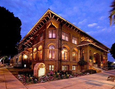 Riverside, California, Ymca, Building, Architecture