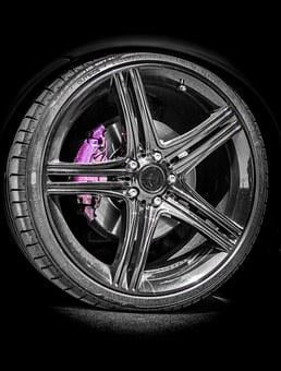 Bord, Edge, Wheel, Tire, Black, Car, Truck, Automotive