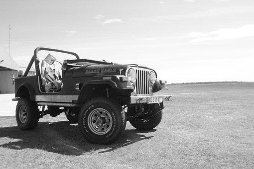 Jeep, Off Road, Car, Vehicle, Off-road, 4x4