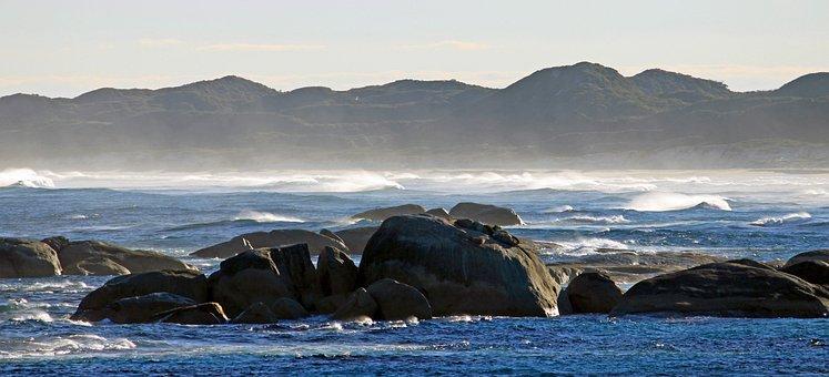 Coast, Spray, Elephant Rocks, West Coast, Australia