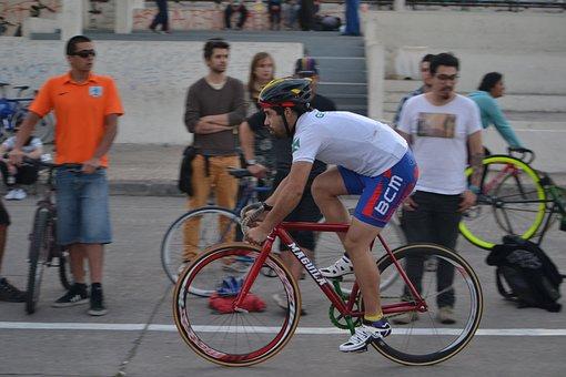 Santiago, Fixed Gear, Fixie, Bicycle, Bike