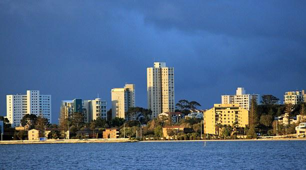 Skyline, Fremantle, Australia, West Coast, City