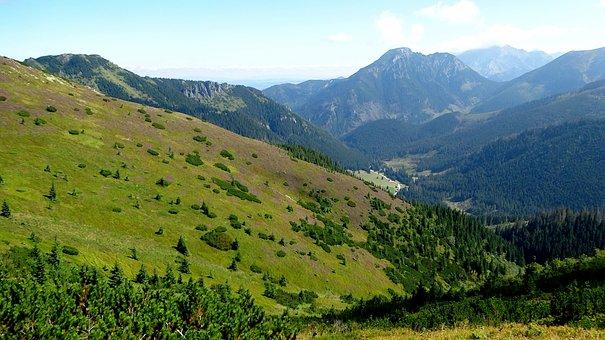 Western Tatras, Mountains, Landscape