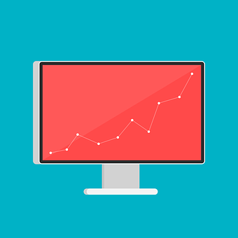 Mac, Red, Graph, Graphic, Chart, Statistics, Course
