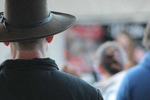 Akubra, Hat, Country, Guy, Man, Cowboy, Outback