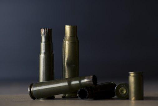 Bullet Shell, Weapon, Metal, Military, Ammunition