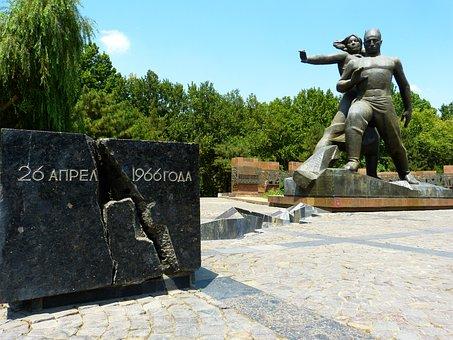 Tashkent, Monument, Earthquake, Earthquake Victims