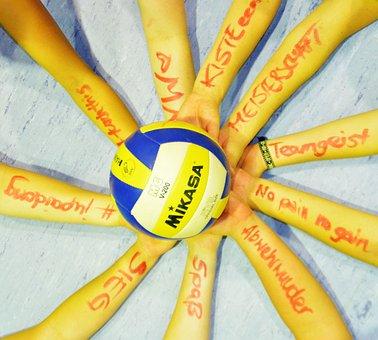 Volleyball, Team, Team Sport, Network, Fairness