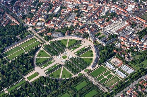 Schwetzingen, Schlossgarten, Park, Castle, Castle Park