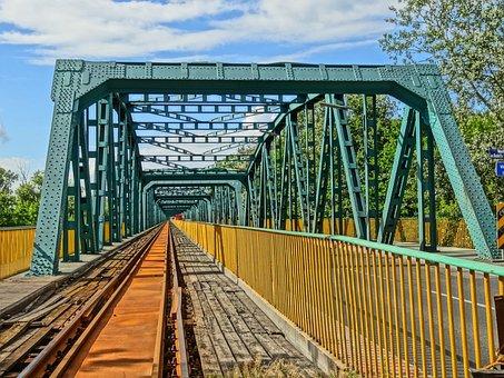 Most Fordonski, Bydgoszczy, Bridge, Perspective