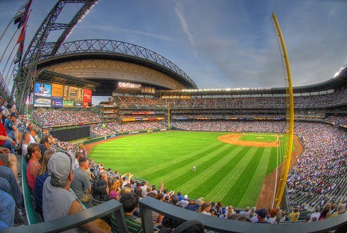 Seattle, Safeco Field, Stadium, Bleachers, Mariners