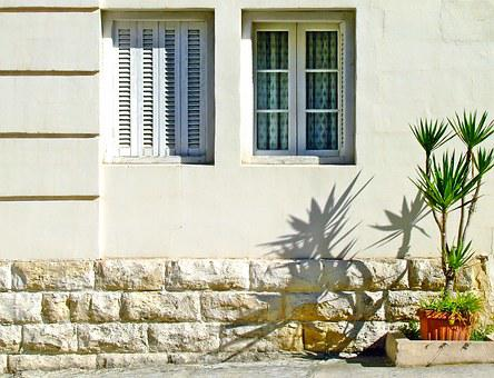 Shuttered Windows, Shutters, Mediterranean House