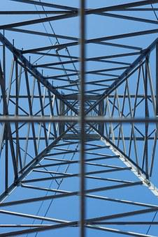 Electricity, Utility Pole, Structure, Metal