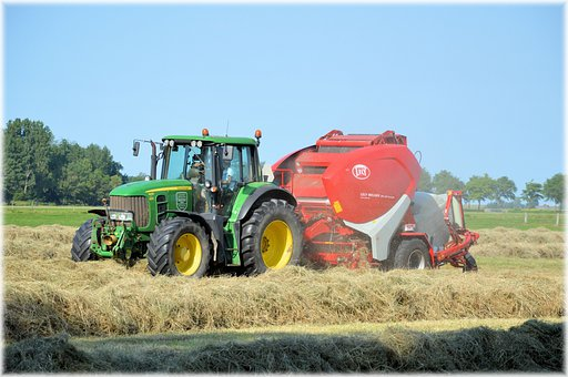 Tractor, Machinery, Agricultural Tools, Farm, Ranch