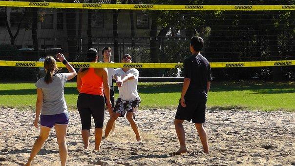 Volleyball, Sport, Ball, Play, Beach Volley, Play Ball