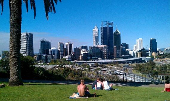 Perth, West Australia, City, Park