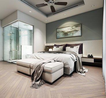 Bedroom, Furniture, Interior Design, Bed, Main Bedroom