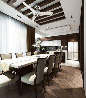 Dining Room, Interior Design, Furniture, Dining Table