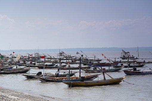 Beach, Sail Boats, Boats, Port, Dock, Kenjeran Beach