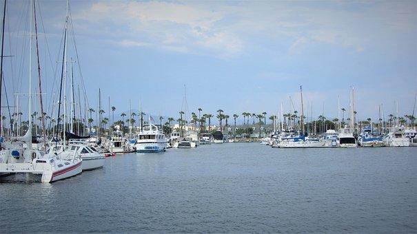 Boats, Bay, Port, Harbor, Sea, Yacht, Ship, Sailboats
