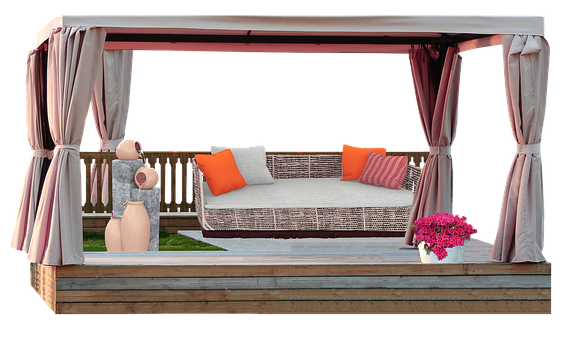 Interior Design, Furniture, Sofa, Gazebo, Couch, Cutout