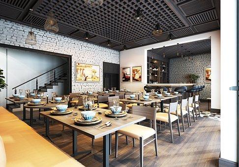 Restaurant, Furniture, Interior Design, Tables, Chairs