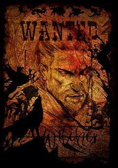 Wanted Poster, Old West, Man, Criminal, Lawbreaker