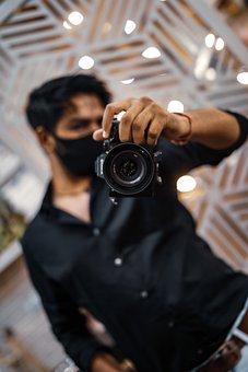 Photographer, Man, Camera, Digital, Dslr, Equipment