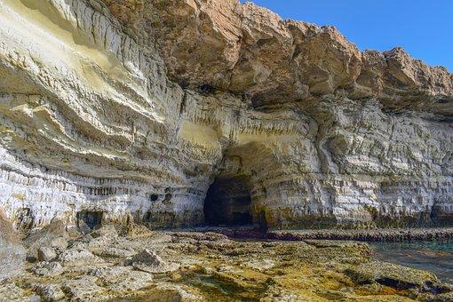 Cape Greco, Sea Cave, Cliff, Cyprus, Cavo Greko