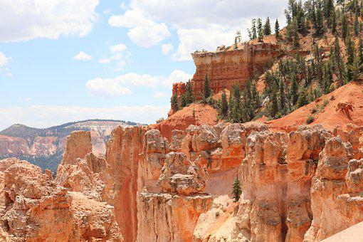 Bryce Canyon, Sandstone, Cliff, Gorge, Canyon