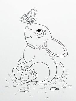 Rabbit, Story, Childhood, Picture