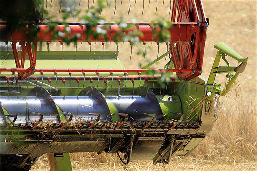 Combine Harvester, Agricultural Machinery, Farm