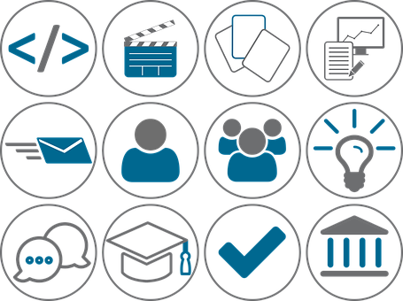 Icon, Code, Video, Paper, Chart, Mail, User, Group