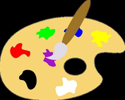 Icon, Palette, Painting, Art, Cutout