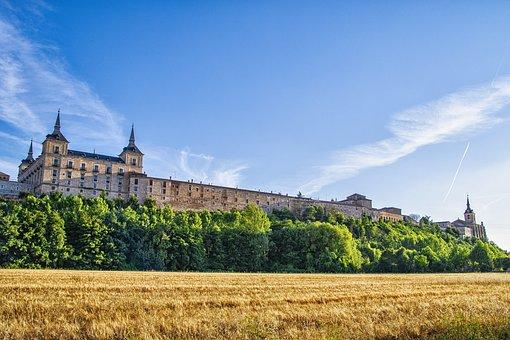Castle, Palace, Architecture, Landscape, Countryside