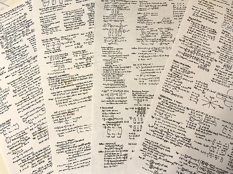 Mathematics, Handwritten, Notes, Study, Learn
