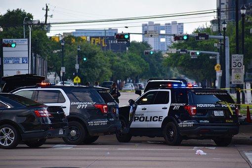 Crime Scene, Patrol Cars, Police, Squad Car, Siren