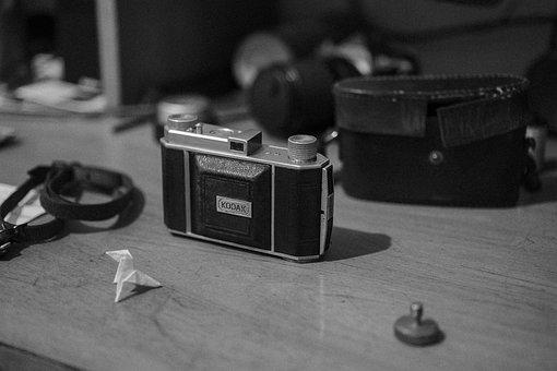 Vintage, Film, Camera, Analog, Retro, Lens, Shutter