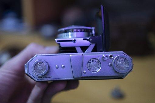 Vintage, Camera, Analog, Retro, Lens, Shutter