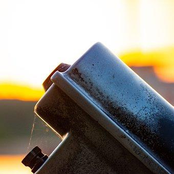 Sunrise, Viewing Machine, Tower Viewer, Binoculars