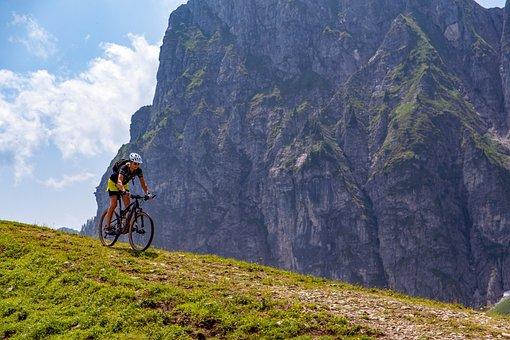Mountain Bike, Biker, Cycling, Sports, Outdoors